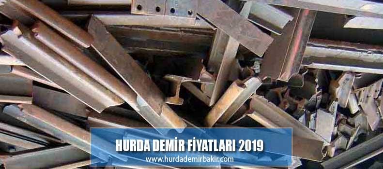hurda demir fiyatları 2019