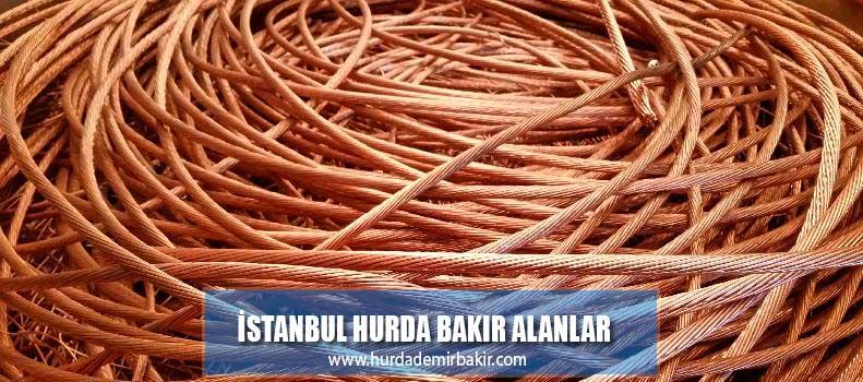 istanbul hurda bakır alanlar